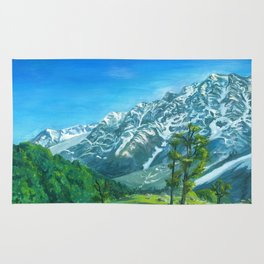 Himalaya mountains Rug