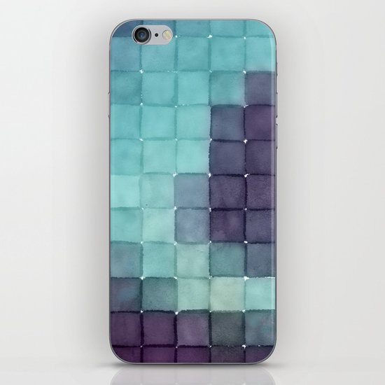 Polaroid Pixels II (Tree) iPhone & iPod Skin