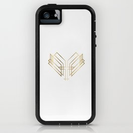 Art Deco Heart iPhone Case