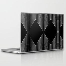 Geo / Black Laptop & iPad Skin