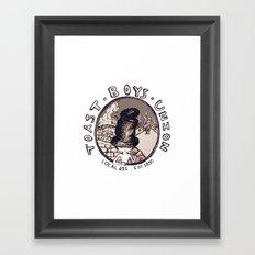 Toast Boy's Union Framed Art Print