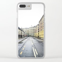 Sunday Morning Clear iPhone Case