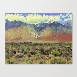 Sierra Nevada II Canvas Print