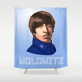 The big bang theority Wolowitz Shower Curtain