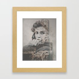 CH//CKZ, MAN! Framed Art Print