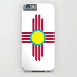 Zia Sun Red iPhone Case