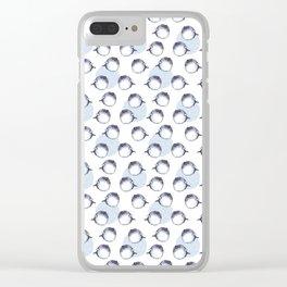 Fugu fish Clear iPhone Case