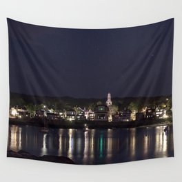 Shiney little town Wall Tapestry