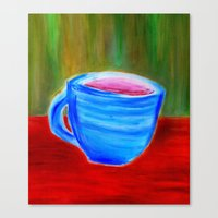 Rhapsody Café Canvas Print