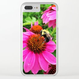 just bee-ing. Clear iPhone Case