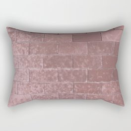 Brick Wall No. 2 Rectangular Pillow