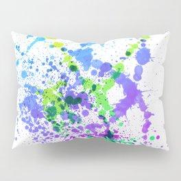 Multicolor Madness - Splatter Style Pillow Sham