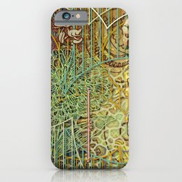 Grinding Out The Mean Layer iPhone Case