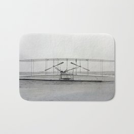 The Wright Brother's aeroplane Bath Mat
