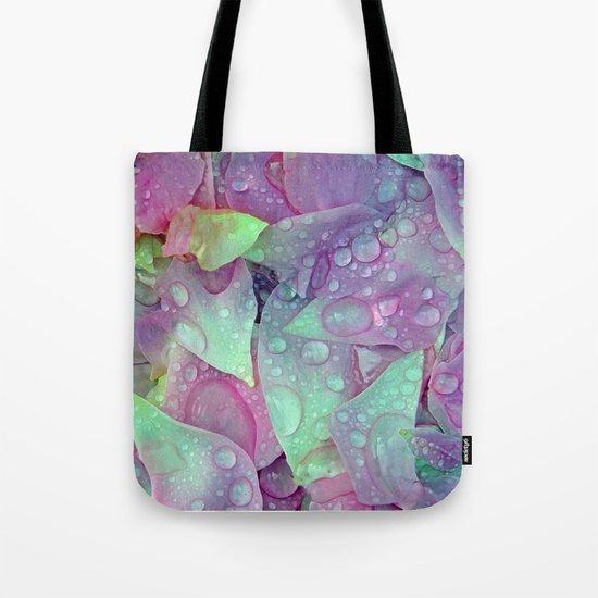 RAIN PETALS Tote Bag