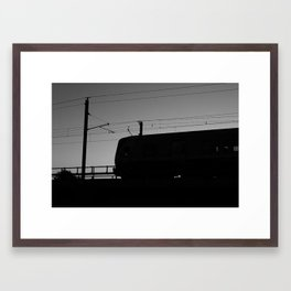 The Dart Framed Art Print