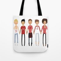 valentines Tote Bags featuring Valentines by cargline