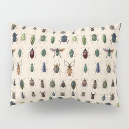 Insects, flies, ants, bugs Pillow Sham