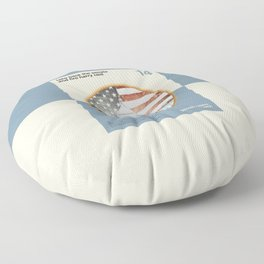 Vote For Liberty Floor Pillow