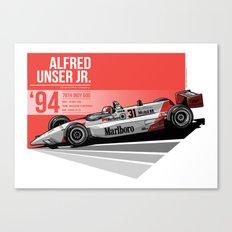 Al Unser Jr - 1994 Indianapolis Canvas Print