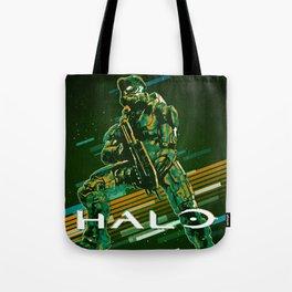 Halo retro art Tote Bag