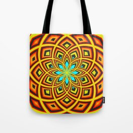 Spiral Rose Pattern D 2/4 Tote Bag