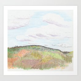 Blanch Woods Art Print