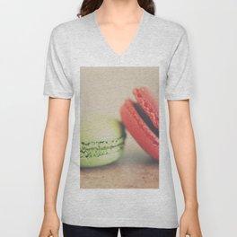 pistachio & strawberry ... Unisex V-Neck