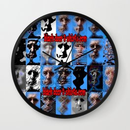 Multifaceted Wall Clock