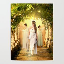 The Garden of the Hesperides Poster