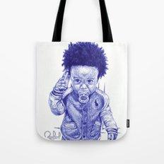 Afro Kid Tote Bag