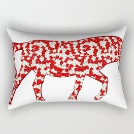 year of the horse: part 3 Rectangular Pillow