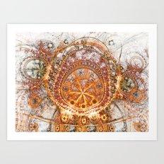 Solar Sanctum Art Print