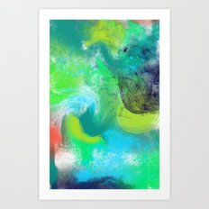 Abstrait Art Print