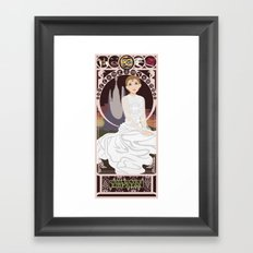 Childlike Empress Nouveau - Neverending Story Framed Art Print