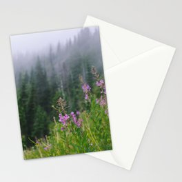 Fire Flowers Stationery Cards