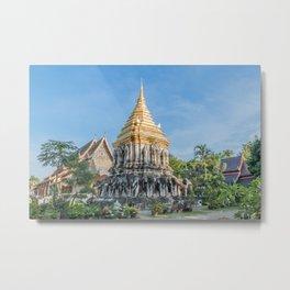 Wat Chiang Man II_Thailand Metal Print