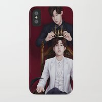 kpop iPhone & iPod Cases featuring King Sunggyu by Nikittysan