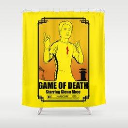 Game of Death Glenn Shower Curtain