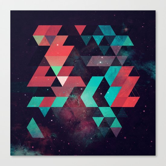 hyzzy fyt tyrq Canvas Print