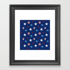 The Star Spangled Man With A Plan Framed Art Print