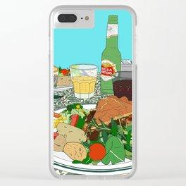 Scottish Beef Steak & Guinness Pie Clear iPhone Case