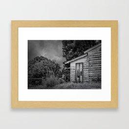 Don't Come Knocking Framed Art Print