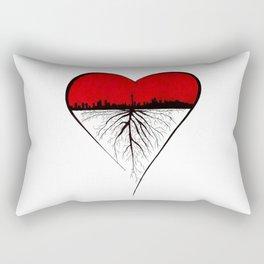 Roots of Toronto Rectangular Pillow
