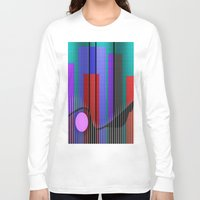band Long Sleeve T-shirts featuring Jazz Band by Kristine Rae Hanning