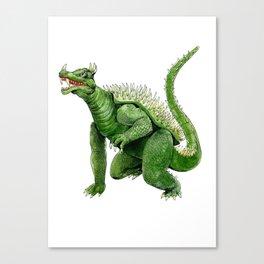 Anguirus Canvas Print