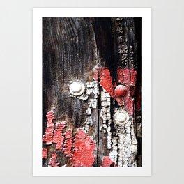 Eroded Art Print