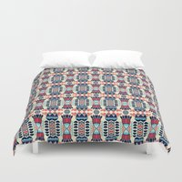 camp Duvet Covers featuring Camp by Daniac Design