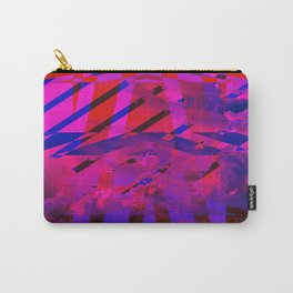 Clouds Mingle with Lines Carry-All Pouch
