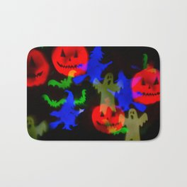 Ghosts And Ghouls Bath Mat